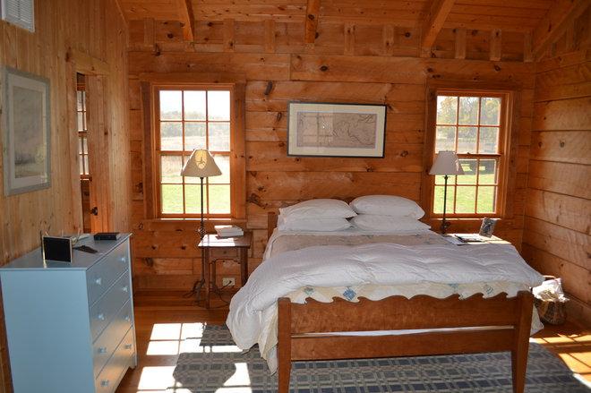 Traditional Bedroom Afton Virginia Cabin