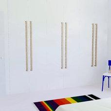 Contemporary Bedroom by Praktyczne i Piękne