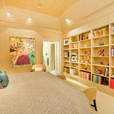 Contemporary Bedroom by Kurt Johnson Photography