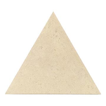 Alabaster Triangle Cork Flooring Tiles from Globus Cork