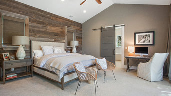 Alamo, CA. Farmhouse. Full Service Design Firm. Master Bedroom.