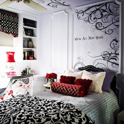 Epic Traditional Bedroom by A Brush With Life