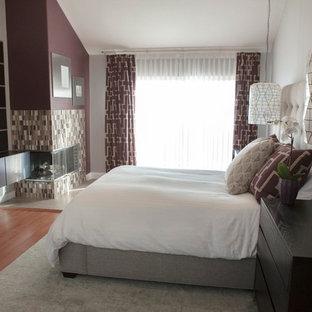 Trendy bedroom photo in Orange County