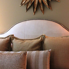 Transitional Bedroom by Aerie Interiors