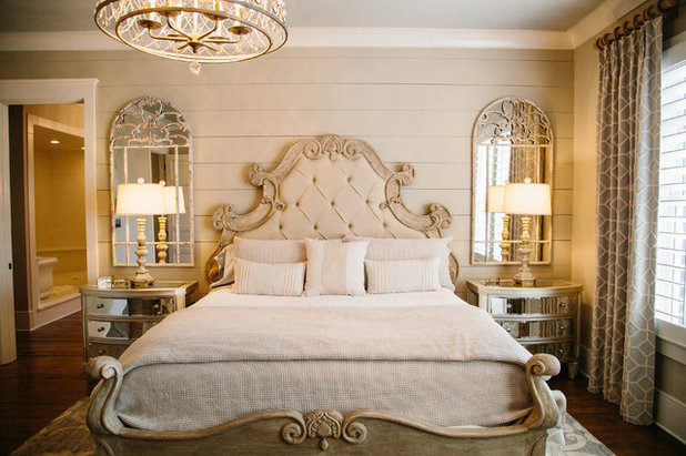 British Colonial Bedroom by Outrageous Interiors