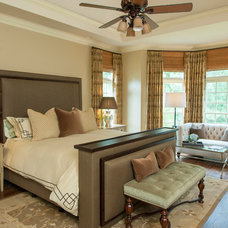 Traditional Bedroom by Regas Interiors, LLC