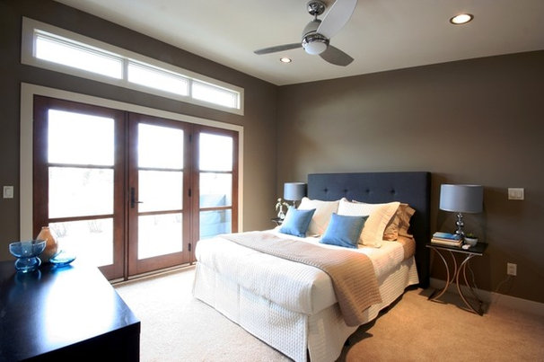 Contemporary Bedroom by Benchland Homes & Design