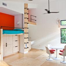 Modern Bedroom by B + O design studio, pllc