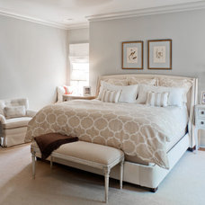 Traditional Bedroom by Laura Casey Interiors