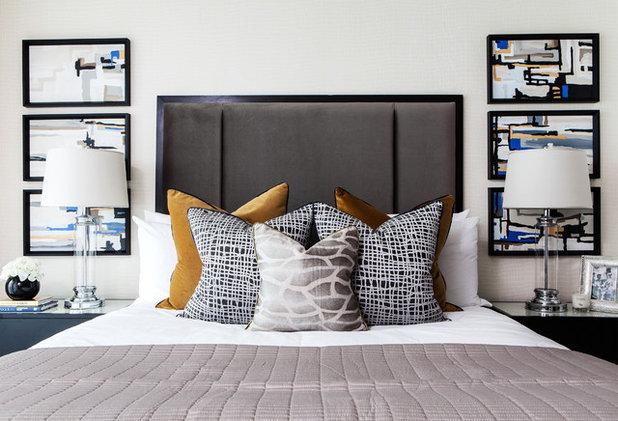 コンテンポラリー 寝室 by Accouter Group