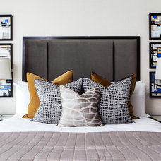 Contemporary Bedroom by A.LONDON by Accouter