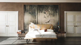 Amadeus Leather Bed by Cattelan Italia