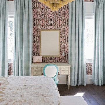 Amanda Talley Wallpaper Bedroom