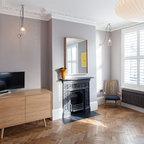 Ambler Road Contemporary Bedroom London By Mailen Design