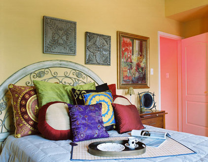 Eclectic Bedroom by American & International Designs, Inc.