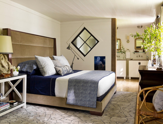 Contemporary Bedroom by Clarkson Potter