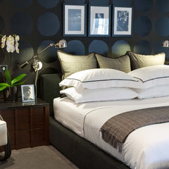 contemporary bedroom by Maurizio Pellizzoni Design Ltd