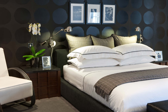 Contemporary Bedroom by MPD London