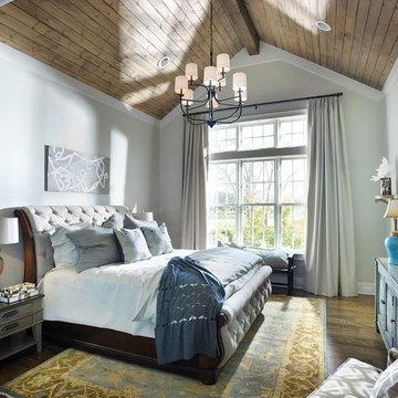 American Farmhouse - Master Bedroom