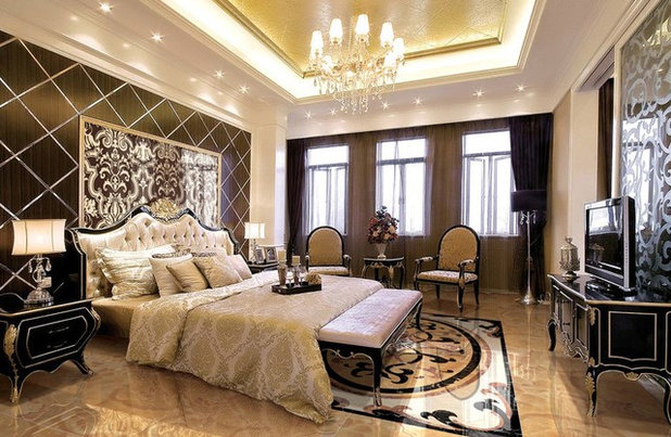 Contemporary Bedroom by AMH