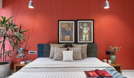Vadodara Houzz: A Modish Second Home With Art-Centric Decor