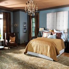 Traditional Bedroom by Anderson Design Studio