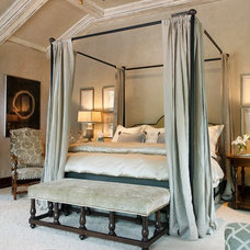 Traditional Bedroom by Jordan Design Studio, Ltd.