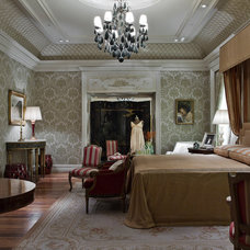 Traditional Bedroom by Allan Malouf Studio