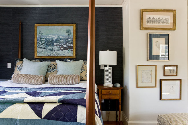 Traditional Bedroom by Ana Donohue Interiors