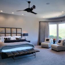 Contemporary Bedroom by Christine M. Mettler/ToH Design Studio