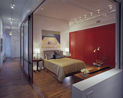 Contemporary Bedroom ANDRE KIKOSKI ARCHITECT PLLC