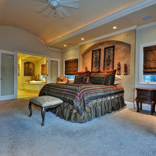 Mediterranean Bedroom by Jay Andre Construction, Inc.