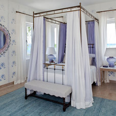 Mediterranean Bedroom by Lien Luu Ltd.
