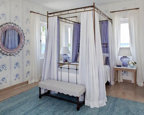 mediterrane schlafzimmer mit farbigen w nden ideen. Black Bedroom Furniture Sets. Home Design Ideas