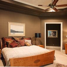 Contemporary Bedroom by Desco Fine Homes