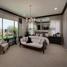 Contemporary Bedroom by Meritage Homes