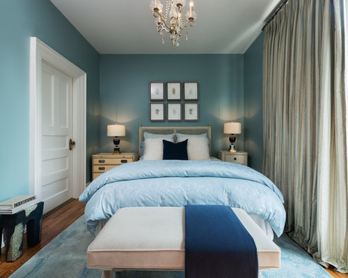 Small eclectic bedroom design ideas remodels photos houzz - How to design a small bedroom ...
