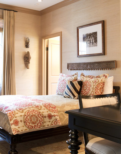 Traditional Bedroom by Erika Bierman Photography