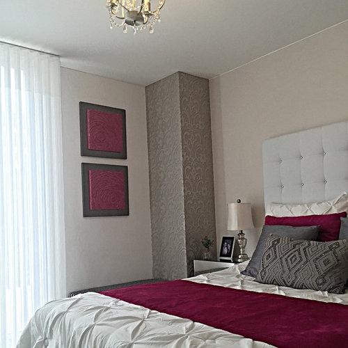 Medium Sized Contemporary Bedroom Design Ideas, Renovations & Photos