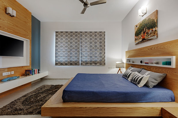 Contemporary Bedroom by Yellow Door Architects