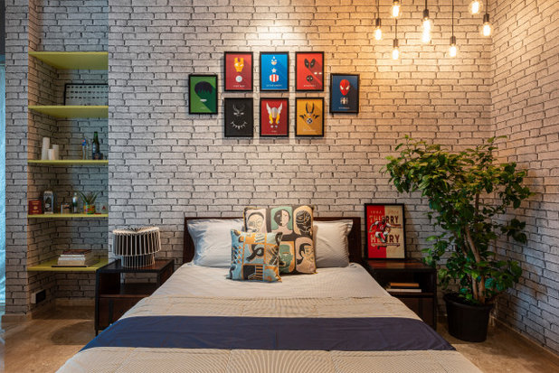 Industrial Bedroom by Anushka Contractor