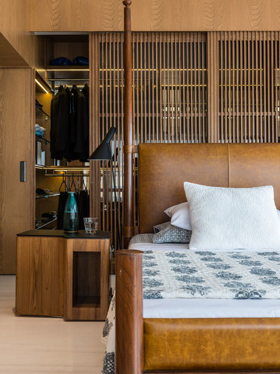 Contemporary Bedroom by ns*a Architecture and Interiors