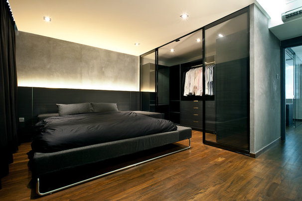 Industrial Bedroom by Architology