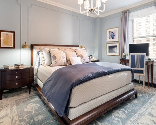 Traditional Bedroom Designs 15 classy elegant traditional bedroom designs that will fit any home Mid Sized Elegant Master Dark Wood Floor And Brown Floor Bedroom Photo In New York