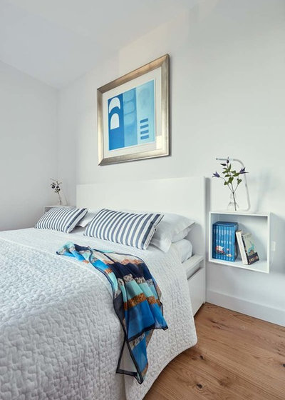 Coastal Bedroom by houseology