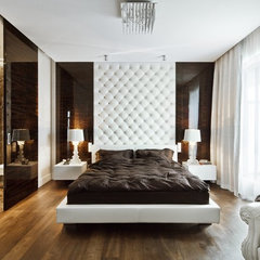 contemporary bedroom by nasciturus design