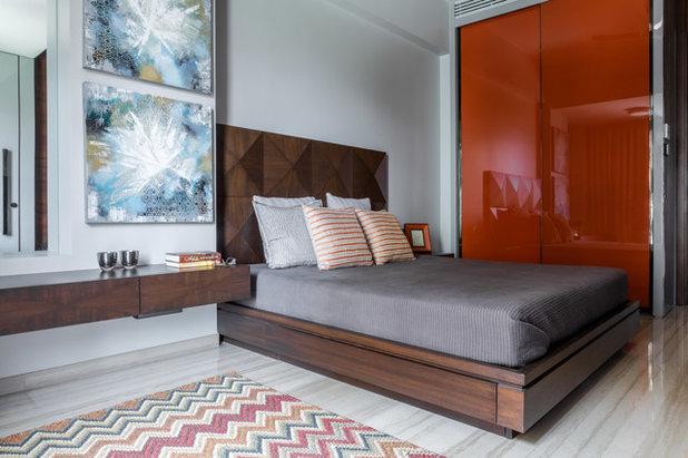 Bedroom by Rakeshh Jeswaani Interior Architects