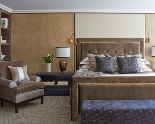 master bedroom wallpaper houzz - Bedroom Wallpaper Designs Ideas
