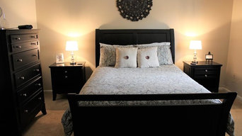 Apartment master bedroom makeover