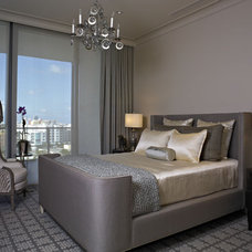 Contemporary Bedroom by Montgomery Roth Architecture & Interior Design